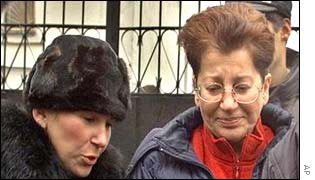 Hostage survivor Raisa Lebedev  leaves hospital