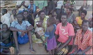 Villagers from Gulu, Pader District