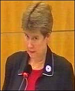Health Minister Jane Hutt