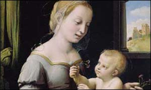 Raphael's Madonna of the Pinks