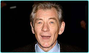 Sir Ian McKellen, who plays Gandalf in Lord of the Rings