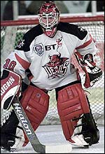 Netminder Stevie Lyle began the player exodus