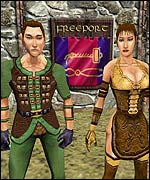 Screengrab from UK version of Everquest