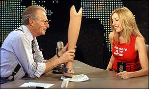 Larry King and Heather Mills on Larry king Live
