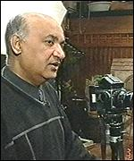 Maz Mashru with his camera