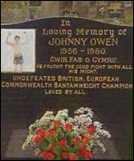 Johnny Owen's grave