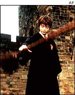 A scene from the first Harry Potter film