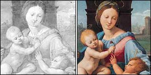 Raphael�s The Madonna and Child with the Infant Baptist