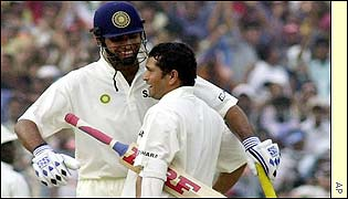 VVS Laxman congratulates Tendulkar on reaching three figures