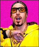 Ali G at the MTV music awards