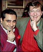 Sanjeev Bhaskar and Stephen Fry