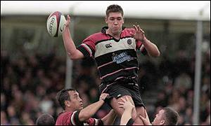 Hines in action for Edinburgh