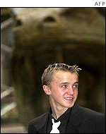 Tom Felton, who plays Draco Malfoy