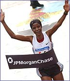 Joyce Chepchumba comes home to win the New York City marathon