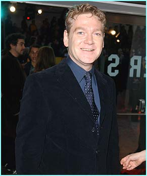 Kenneth Branagh was smiling - just like Gilderoy