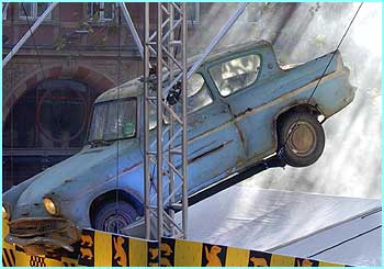 The Ford Anglia crash landed again