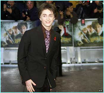 Everyone wanted to see Daniel Radcliffe