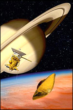 Cassini and Huygens, Esa