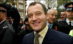 Paul Burrell after the collapse of his trial