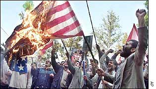 Burning of US flag