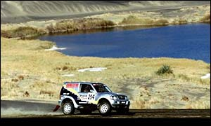 The Paris-Dakar race has breathtaking routes