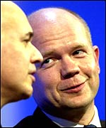 Former Tory leader William Hague and Iain Duncan Smith
