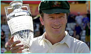 Australia captain Steve Waugh