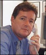 Mirror editor Piers Morgan