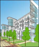 Image of the proposed development