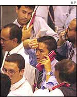 Brazilian stock traders