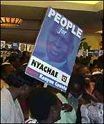 Nyachae supporters