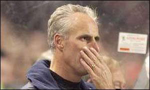 Mick McCarthy was heavily criticised in the Irish newspapers after the Republic lost to Switzerland in a Euro 2004 qualifier
