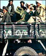 The Taleban fighters in Afghanistan
