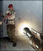Soldier of Fortune screenshot, Activision