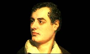 Lord Byron was the hearthrob of his generation