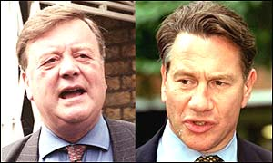 Kenneth Clarke and Michael Portillo