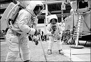 Training for the Moonlandings, Nasa