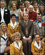 Cast of the TV sitcom Hi De Hi