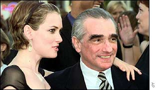 Winona Ryder with Martin Scorsese