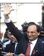 Gibraltar's Chief Minister Peter Caruana
