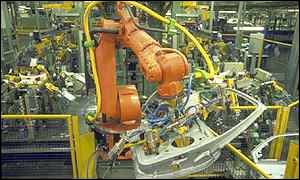 Inside a Ford production line