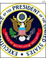 Badge of the Office of Homeland Security