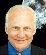 Buzz Aldrin - former US astronaut and second man on Moon