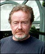 British film director Ridley Scott