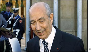 Driss Jettou leaves Rabat's Royal Palace after meeting King Mohammed on Thursday