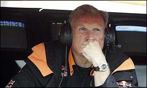 Arrows boss Tom Walkinshaw