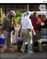 Inspectors go to work in Baghdad in November 1998
