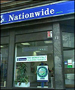 A branch of Nationwide building society