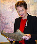 Dr Susan Whitfield, Director of the British Library's International Dunhuang Project
