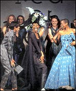 A 1993 Red or Dead catwalk finale